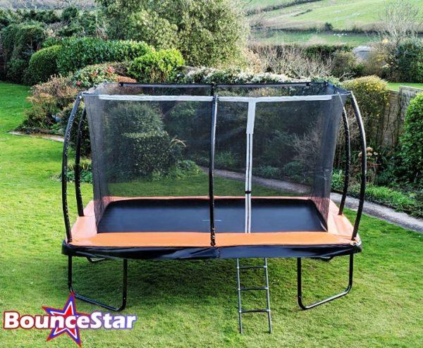 BounceStar 7x10ft trampoline package