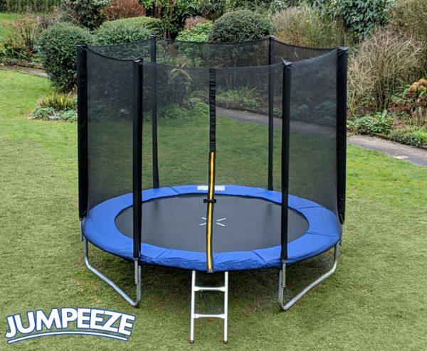 Jumpeeze Blue 8ft trampoline package