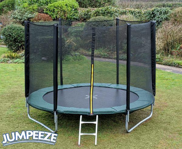 Jumpeeze Green 10ft trampoline package