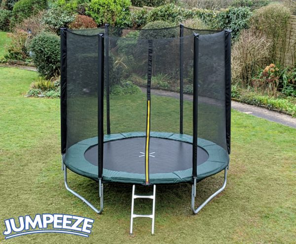 Jumpeeze Green 6ft trampoline package