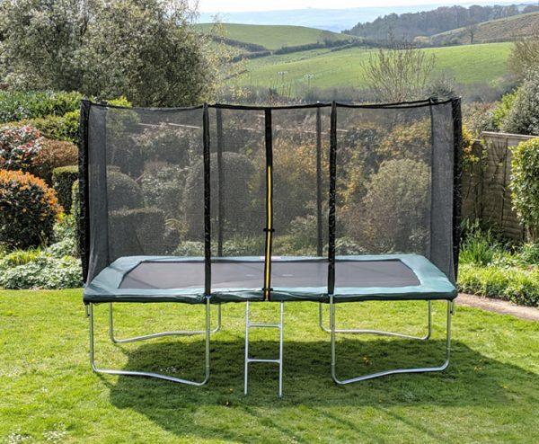 Kanga Green 7x10ft trampoline package